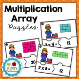 Multiplication Array Puzzles