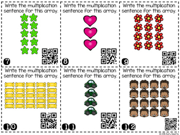 Multiplication Array QR Scoot