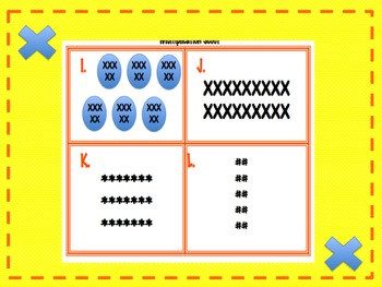 Multiplication Array Scoot/Task Cards