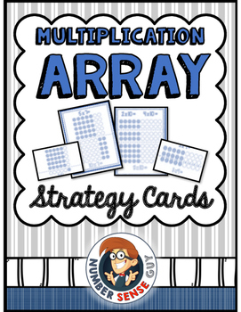 Multiplication Array Strategy Cards