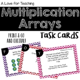 Multiplication Array Task Cards {Digital}