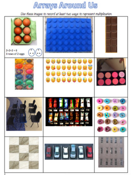 Multiplication - Arrays All Around