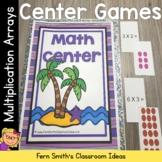 Multiplication Arrays Math Center Games