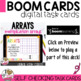 #backwithboom Multiplication Arrays Boom Cards