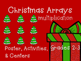 Multiplication Arrays {Christmas Activities & Centers}