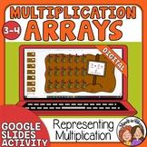 Multiplication Arrays Digital Google Slides Activity 3rd grade