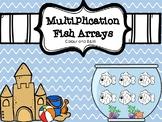 Multiplication Arrays- Fish