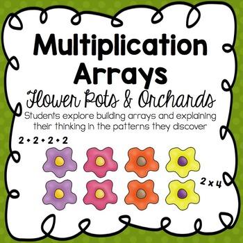 Multiplication Arrays :: Flower Pots & Orchards