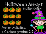 Multiplication Arrays {Halloween Math}