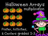 Multiplication Arrays {Halloween Math}