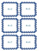 Multiplication Arrays Match Game, Winter Snowflakes
