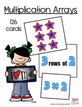 Multiplication Arrays - Matching Game