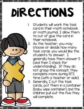 Multiplication Arrays Math Notebook