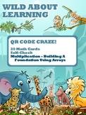 Multiplication Arrays - QR Codes