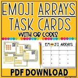 Multiplication Arrays QR Task Cards