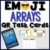 Multiplication Arrays QR Task Cards