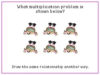 Multiplication Arrays: Task Cards