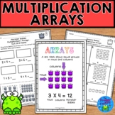 Multiplication Arrays Worksheets - (NO PREP Printables)