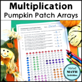 Multiplication Arrays in the Pumpkin Patch