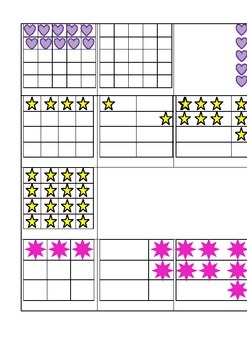 Multiplication Arrays with Matching Equation and Product Cards