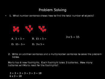 Multiplication As Repeated Addition Power Point