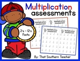 Multiplication Assessment