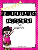 Multiplication Assessment 3.OA.1