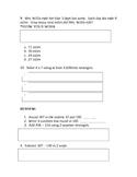 Multiplication Assessment Common Core