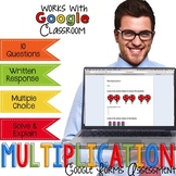 Multiplication Assessment - Go Paperless Digital Resource