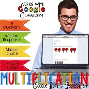 Multiplication Assessment - Go Paperless Digital Resource