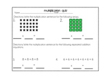 Multiplication Assessment Pack