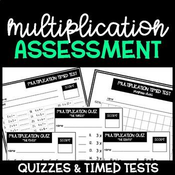 Multiplication Assessment Tools