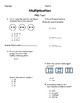 Multiplication Assessment Unit (for use with Magic of Math  3rd Grade)