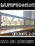 Multiplication Assessment and Data Tracker