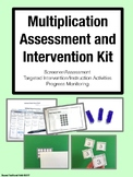 Multiplication Assessment and Intervention Kit (Grades 3-6)