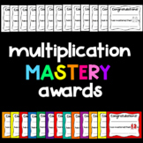Multiplication Awards