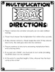 Multiplication Game: Multiplication BAM Game - Zap, Kaboom!