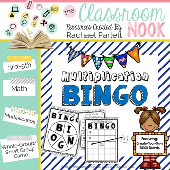 Multiplication BINGO {14 Create-Your-Own Games!}