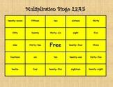 Multiplication BINGO 2,3,4,5
