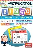 Multiplication BINGO ( All factors 0 - 12 )