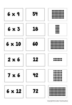 Multiplication BINGO ( All factors 0 - 12 )