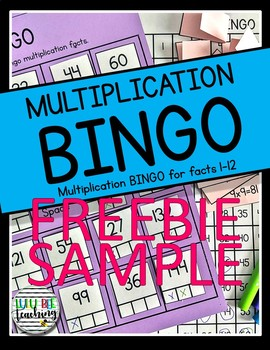 Multiplication BINGO (Facts 0-4)