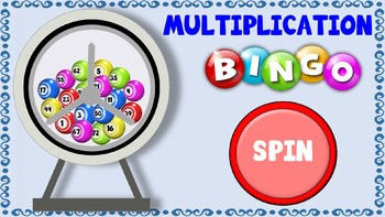 Multiplication BINGO PowerPoint Game