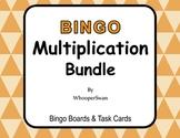 Multiplication - BINGO and Task Cards Bundle