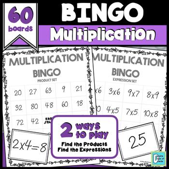 Multiplication BINGOS