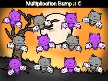 Halloween Multiplication Games