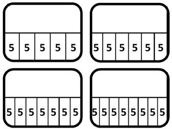 Multiplication Bar Model Cards