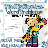 Multiplication Bar Model Word Problems