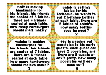 Multiplication Barbeque