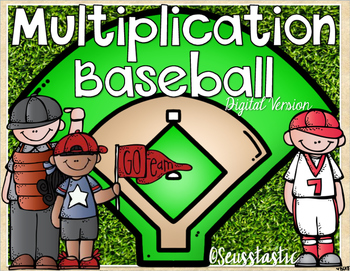 Multiplication Baseball (Facts to 144)